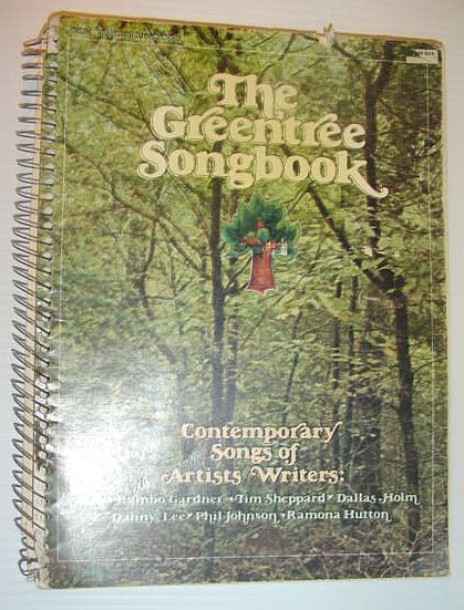 Image for The GreenTree Songbook (One / 1) - Contemporary Songs of Artists/Writers
