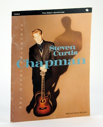 Image for The Great Adventure - Steven Curtis Chapman, Medium Voice Edition: Songbook (Song Book) with Sheet Music for Voice and piano with Chords