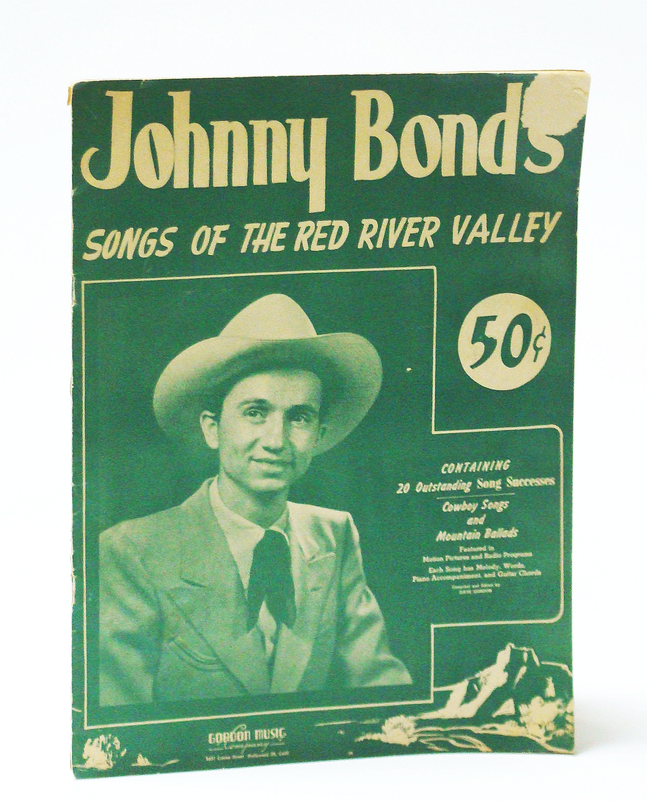 Image for Johnny Bond's Songs of the Red River Valley: Songbook with Sheet Music for Piano and Voice