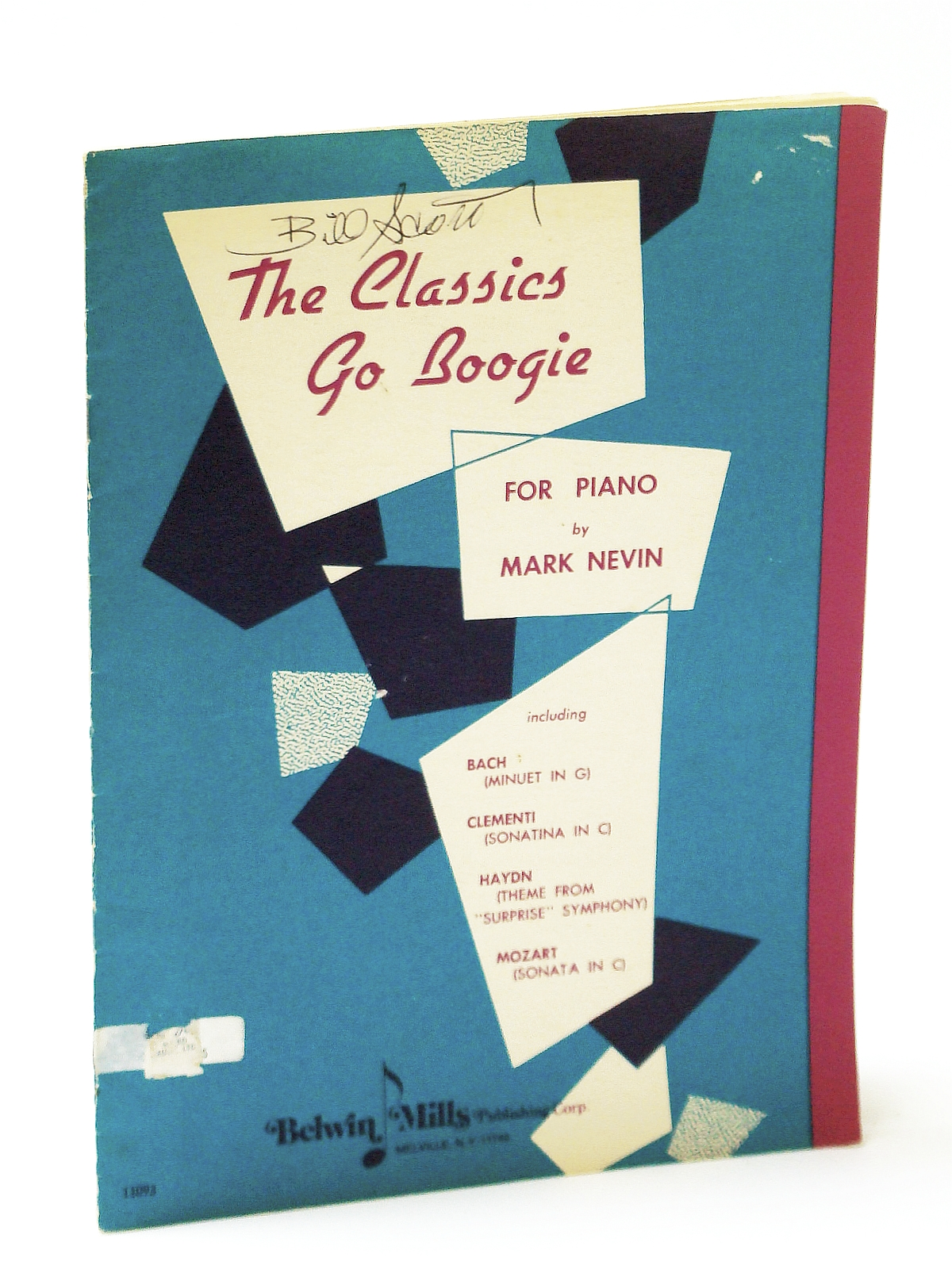 Image for The Classics Go Boogie [FOR PIANO including - Bach / Clementi / Haydn / Mozart]