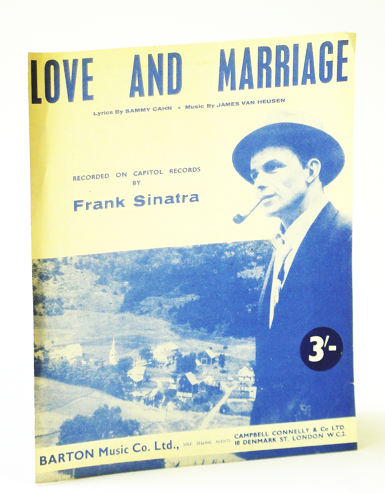 Image for Love and Marriage (Recorded on Capital Records By Frank Sinatra): Sheet Music for Piano and Voice
