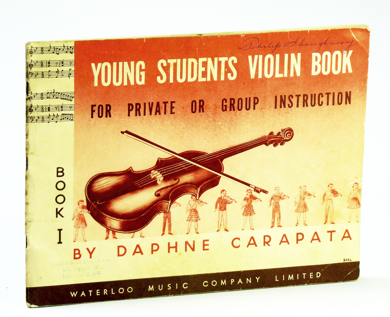 Image for Young Students Violin Book (Book One / 1 / I)- for Private or Group Instruction