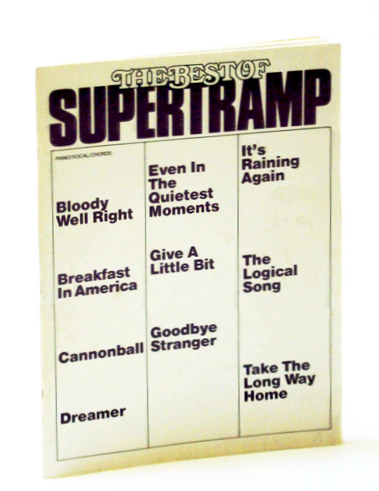 Image for The Best of Supertramp.