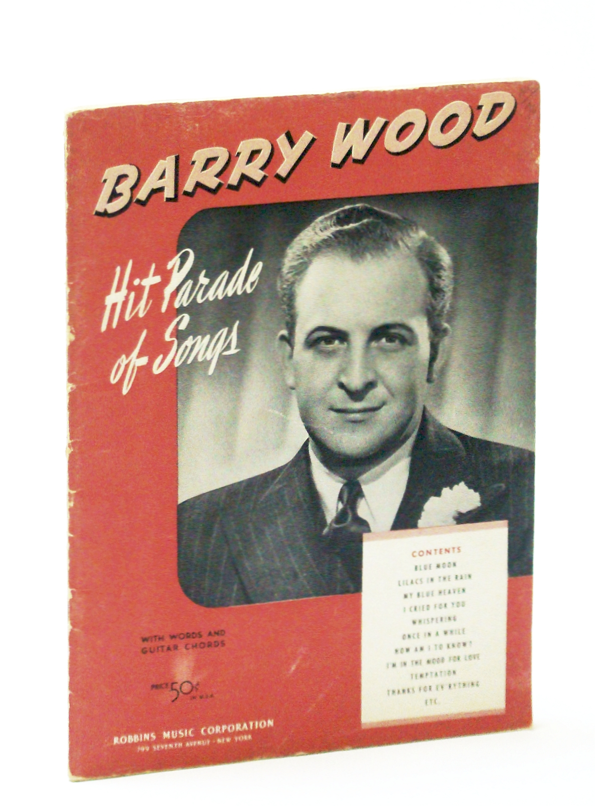 Image for Barry Wood : Hit Parade of Songs