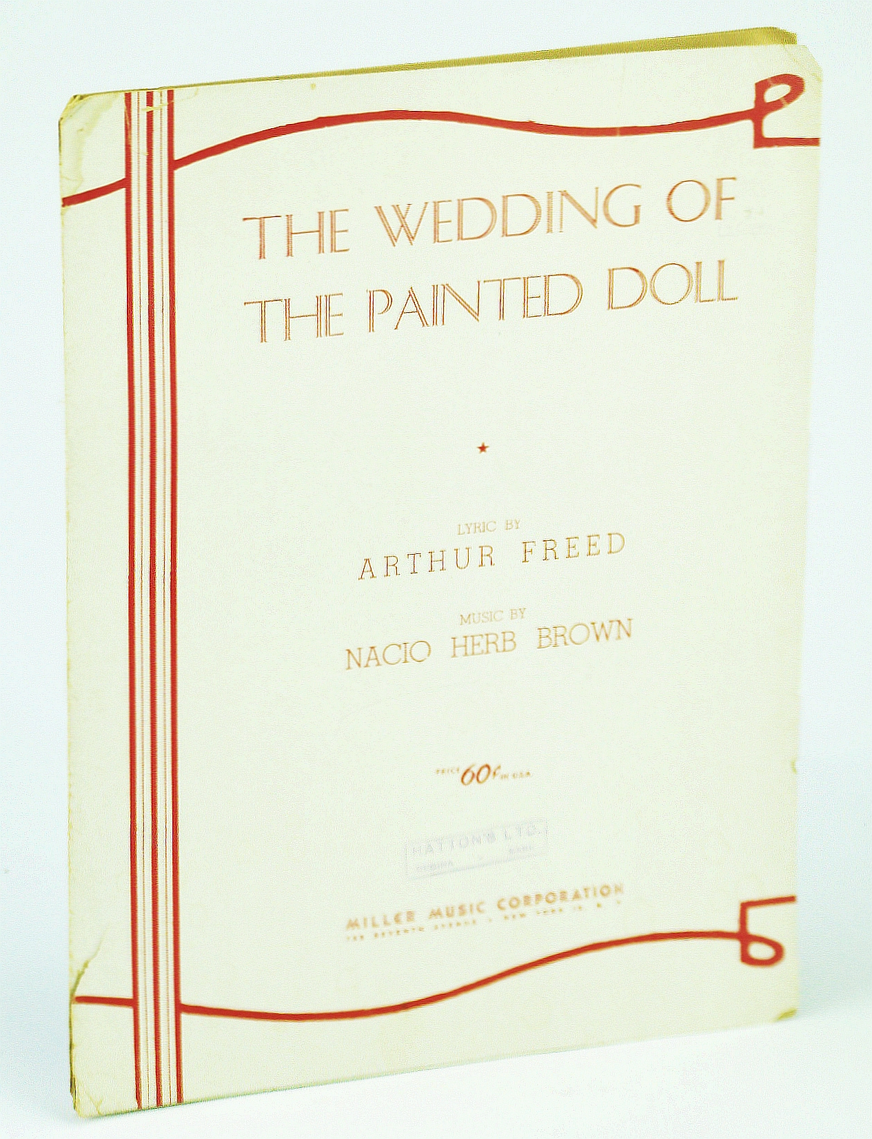 Image for Sheet Music The Wedding Of The Painted Doll Brown 7
