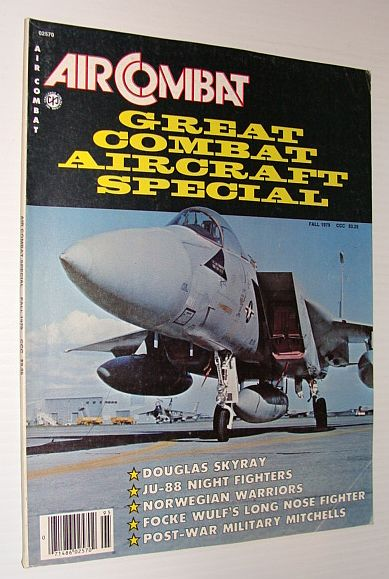 Image for Air Combat Magazine - Great Combat Aircraft Special Issue - Fall 1979