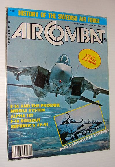 Image for Air Combat Magazine, March 1979 - History of the Swedish Air Force