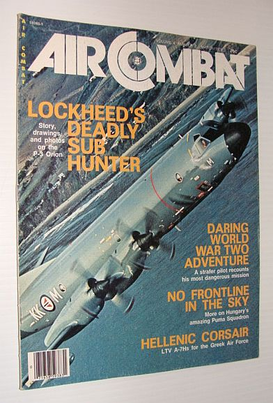 Image for Air Combat Magazine, March 1976 - Lockheed's Deadly Sub-hunter - the P-3 Orion