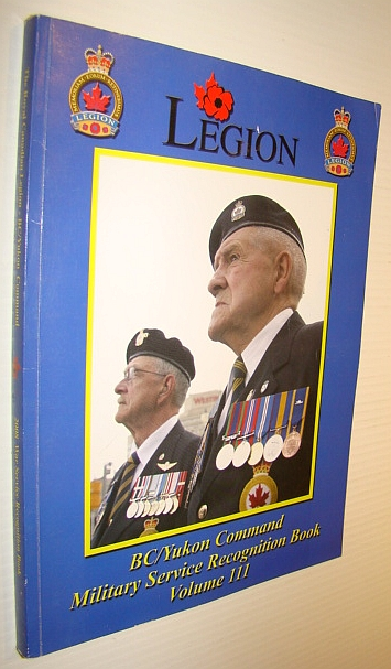 Image for BC (British Columbia)/Yukon Command Military Service Recognition Book, Volume III (3)