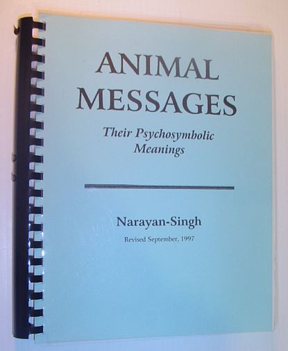 Image for Animal Messages: Their Psychosymbolic Meanings