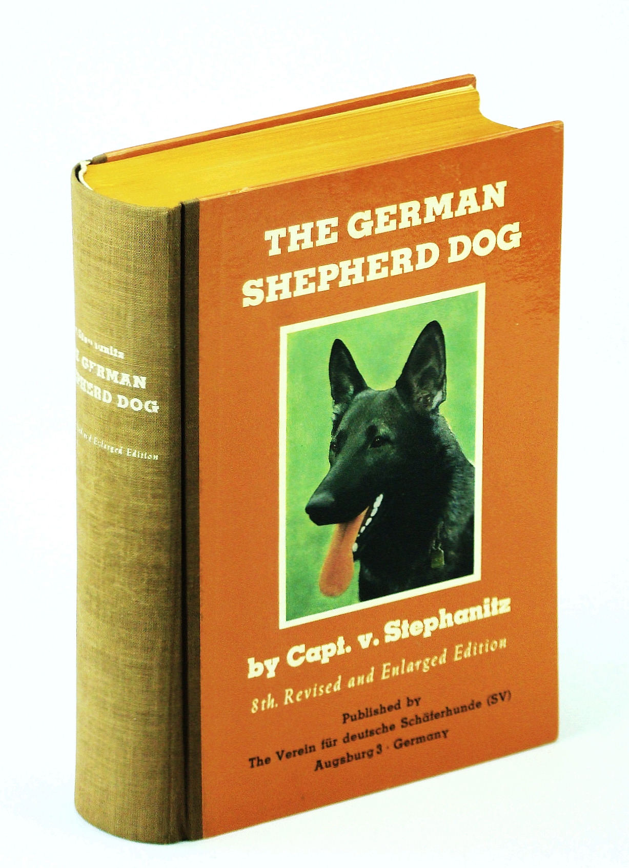 Image for The German shepherd dog
