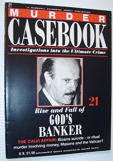 Image for Murder Casebook: Rise and Fall of God's Banker - Roberto Calvi