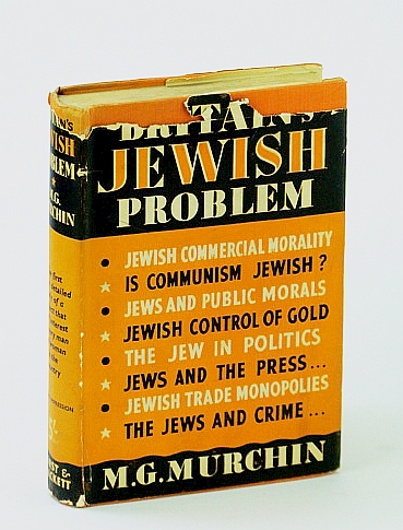 Image for Britain's Jewish Problem