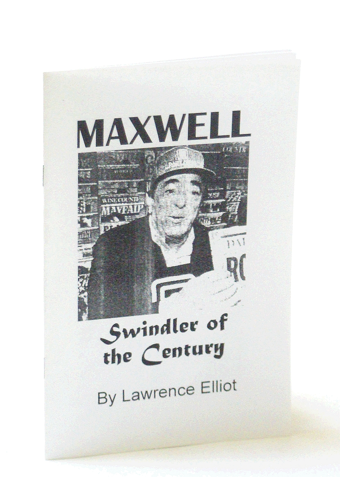 Image for [Robert] Maxwell - Swindler of the Century