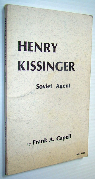 Image for Henry Kissinger - Soviet Agent