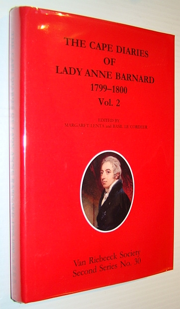 Image for The Cape Diaries of Lady Anne Barnard 1799-1800, Volume Two (2) Only, Second Series No. 30