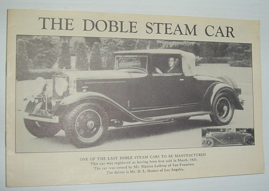Image for The Doble Steam Car