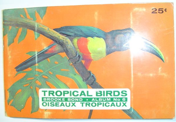 Image for Tropical Birds: Brooke Bond Album No. 6