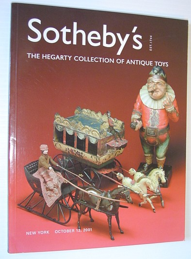 Image for The Hegarty Collection of Important Antique Toys: Sotheby's Auction 7715, 12 October 2001