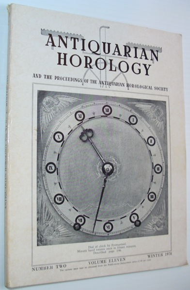 Image for Antiquarian Horology and the Proceedings of the Antiquarian Horological Society - Winter 1978, Volume Eleven, Number Two