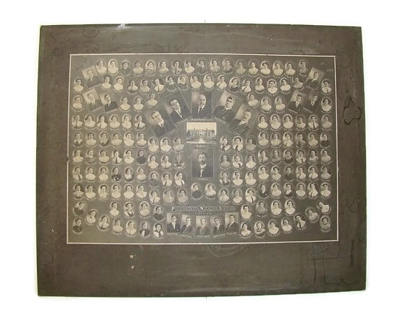 Image for British Columbia Provincial Normal School/Department of Education Training School, Vancouver, Class Photo Montage 1911-1912