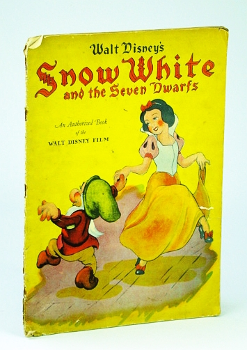 Image for Walt Disneys Snow White & The Seven Dwarfs  an Authorized Book of The Walt Disney Movie Linen Like #925, Story of, Has Snow White & one of Dwarfs Dancing on Cover