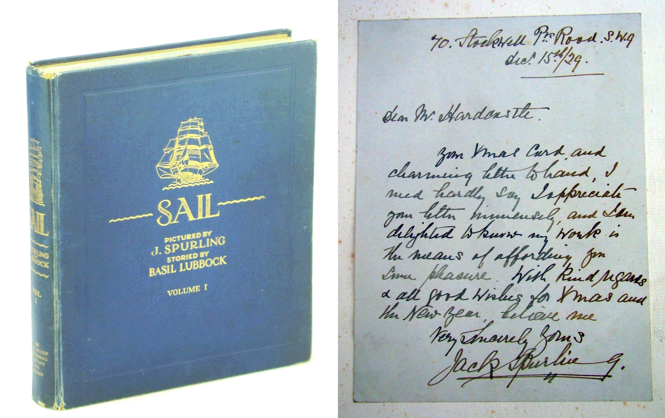Image for Sail - The Romance of Clipper Ships, Volume I