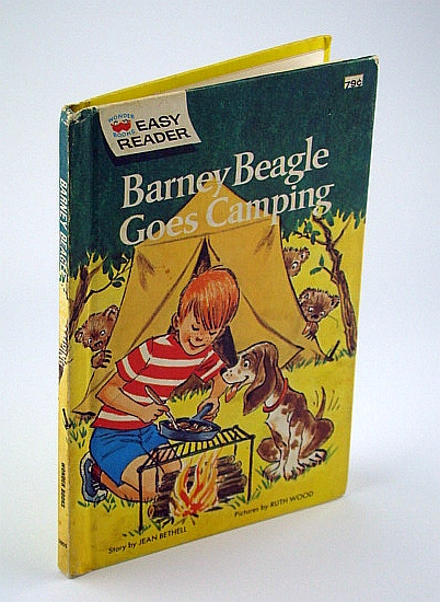 Image for Barney Beagle Goes Camping