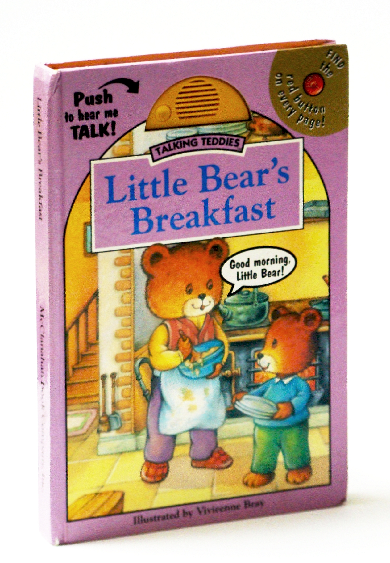 Image for Little Bear's Breakfast (Talking Teddies)