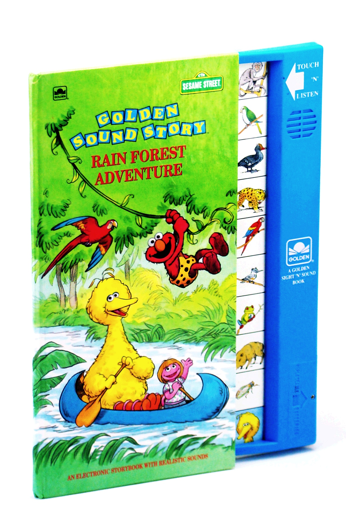 Image for Rain Forest Adventure (Sesame Street Golden Sound Story)