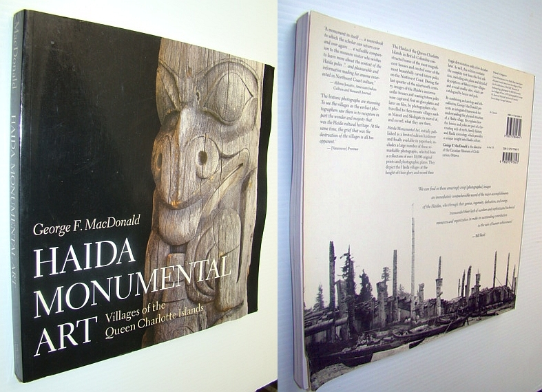 Image for Haida Monumental Art: Villages of the Queen Charlotte Islands