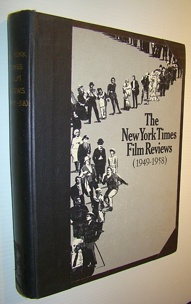 Image for The New York Times Film Reviews: Volume 4 (Four) 1949-1958