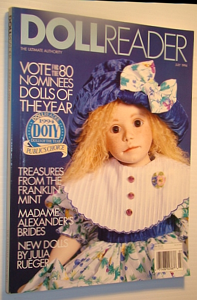 Image for Doll Reader (Dollreader) Magazine, July 1994: New Dolls By Ulia Rueger