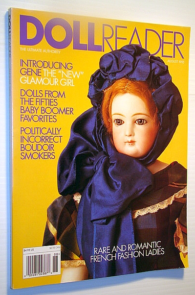 Image for Doll Reader (Dollreader) Magazine, August 1995: Rare and Romantic French Fashion Ladies