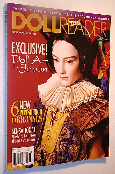 Image for Doll Reader (Dollreader) Magazine, February 1996: Doll Art in Japan