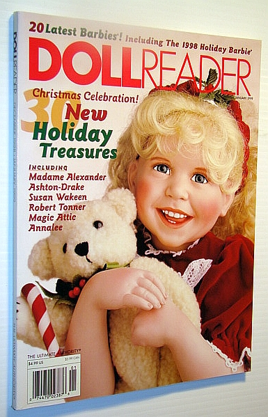 Image for Doll Reader (Dollreader) Magazine, January 1999: New Holiday Treasures
