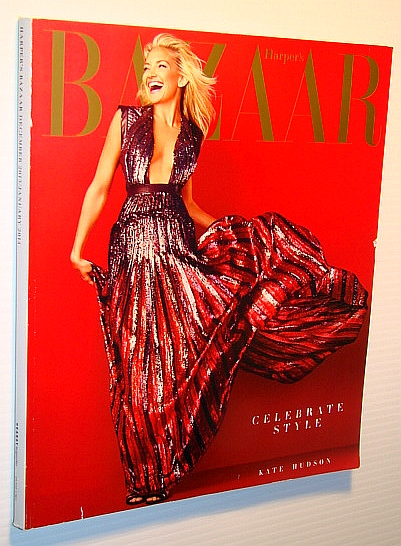Image for Harper's Bazaar Magazine, December 2013/January 2014 - Kate Hudson Cover
