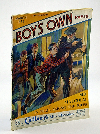 Image for The Boy's Own Paper, March, 1934, Vol. LVI