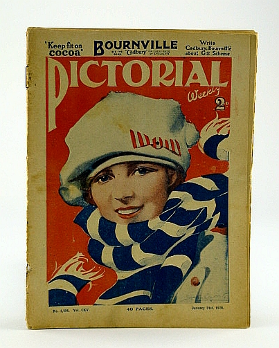 Image for Pictorial Weekly, January 21st,, 1928, No. 1,494, Vol, CXV - British Boys in Slavery!