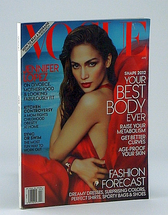 Image for Vogue (US), April 2012 - Jennifer Lopez Cover