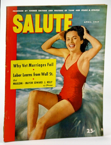 Image for Salute Magazine, Apr. (April) 1947, Vol. 2, No. 4 - Gagging of the GI Press