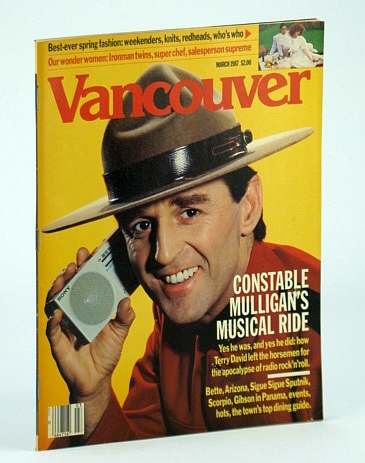 Image for Vancouver (B.C.) Magazine, March (Mar.) 1987 (Volume 20, No. 3) - Terry David Mulligan Cover Photo