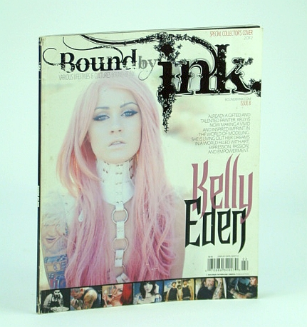 Image for Bound By Ink Magazine - Various Lifestyles & Cultures, Issue 8 (Eight), 2012 - Kelly Eden Cover Photo