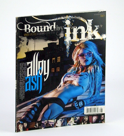 Image for Bound By Ink Magazine - Various Lifestyles & Cultures, Issue 9 (Nine), 2012 - Alloy Ash Cover Photo
