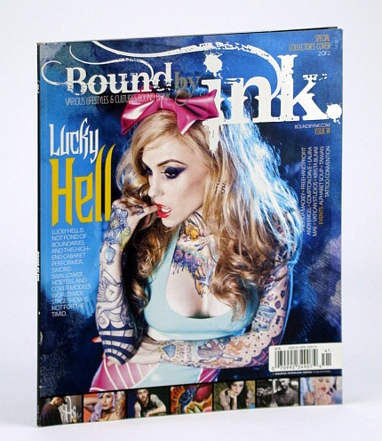 Image for Bound By Ink Magazine - Various Lifestyles & Cultures, Issue Fourteen (14), 2013 - Lucky Hell Cover Photo