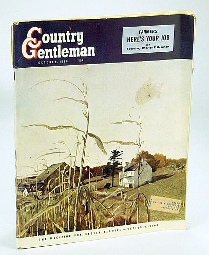 Image for Country Gentleman - The Magazine for Better Farming, Better Living - October (Oct.) 1950: Green is Their Virginia Valley