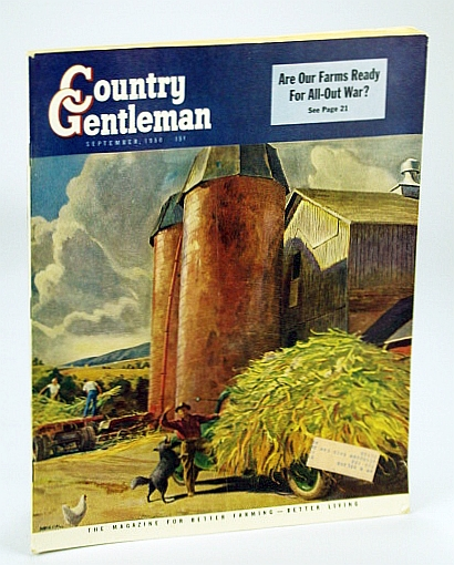 Image for Country Gentleman - The Magazine for Better Farming, Better Living - September (Sept.) 1950: Are Our Farms Ready for All-Out War?