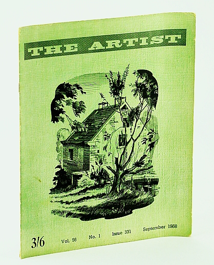 Image for The Artist (Magazine), September (Sept.) 1958, Vol. 56, No. 1 - The Creative Outlook