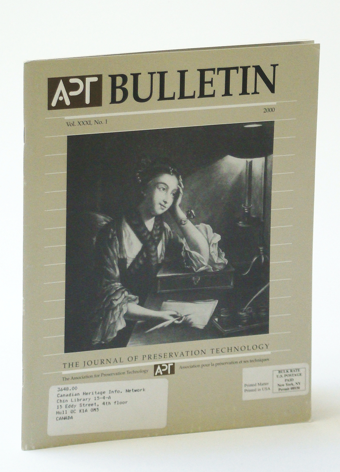 Image for APT Bulletin - The Journal of Preservation Technology, Vol. XXXI, No. 1, 2000 - Lighting Historic House Museums