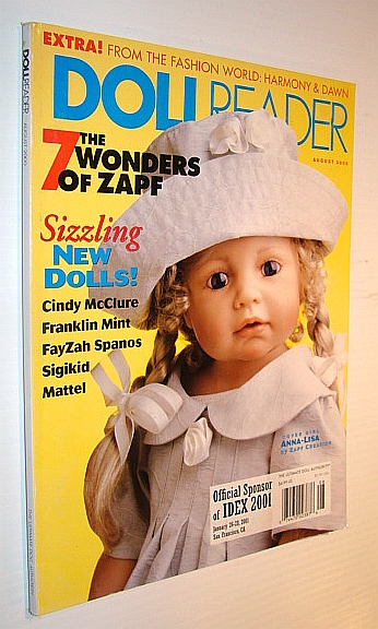 Image for Dollreader (Doll Reader) Magazine, August 2000 - The 7 Wonders of Zapf